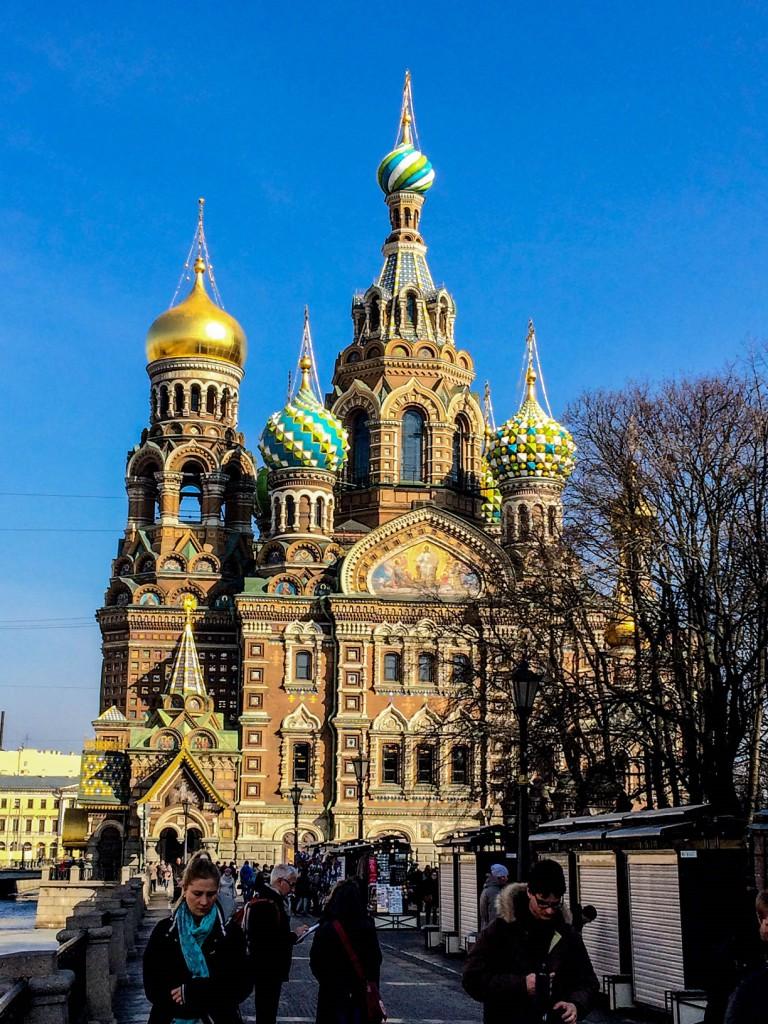 Chrám Kristovho vzkriesenia, Sankt Petersburg